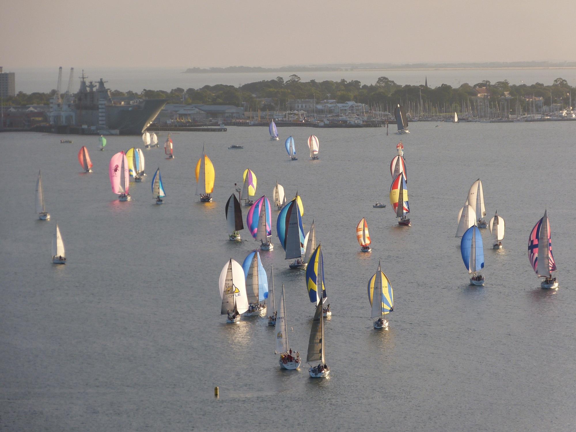 Keelboat aerial