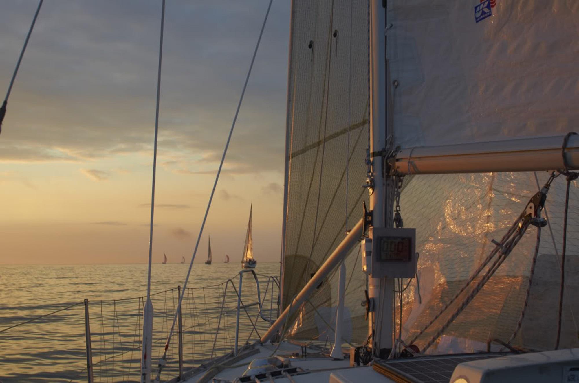 Keelboat onboard